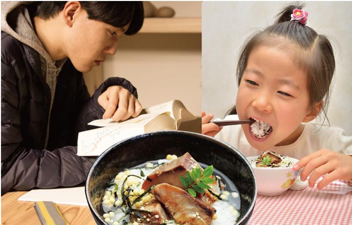 魚の栄養を丸ごと食べられるから受験生のお夜食や、お子様にもどうぞ